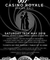 Casino Royale James Bond Spring Ball