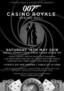 Casino Royale Leaflet