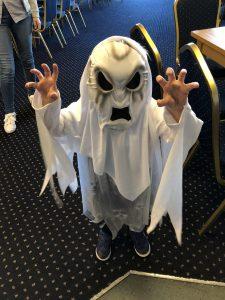 Halloween Fancy dress FBCC 2018 ghost