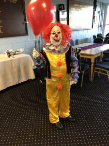 Halloween Fancy dress FBCC 2018 scary clown