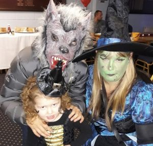 Halloween Fancy dress FBCC 2018 witches and werewolves