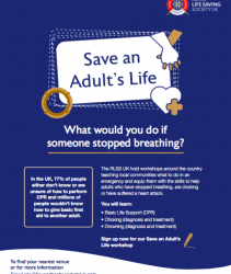 Save An Adults Life – 9th February 2020
