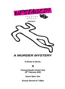 A Murder Mystery!
