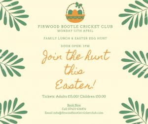 Easter Egg Hunt & Lunch