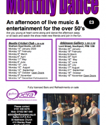 Monthly Dance with Sefton Opera