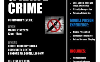 GUN, GANG & KNIFE CRIME @ Christ Church Youth & Community Centre