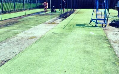 Nets coming along nicely.
